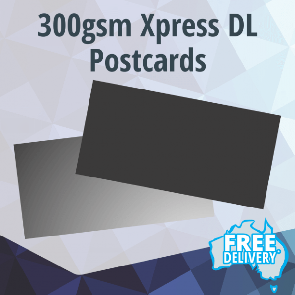 Postcards - Xpress 300gsm - DL 210x99mm