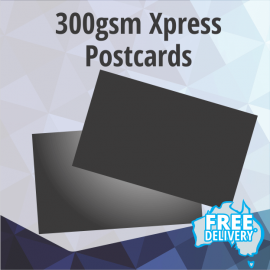 Postcards - Xpress 300gsm - Standard 145x95mm
