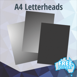Letterheads - A4 - Full Colour