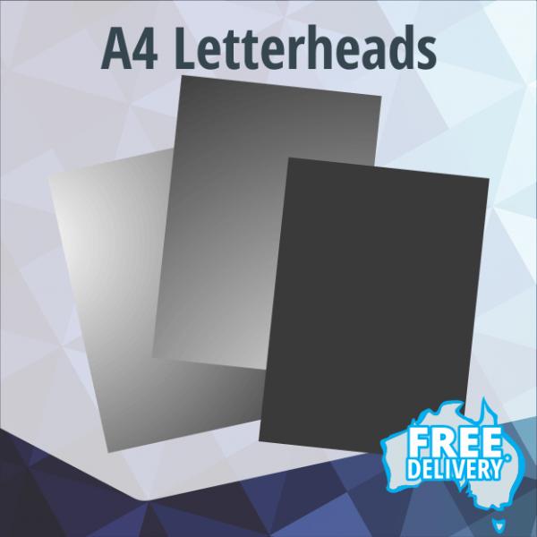 Letterheads - A4 - Full Colour