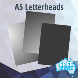 Letterheads - A5 - Full Colour