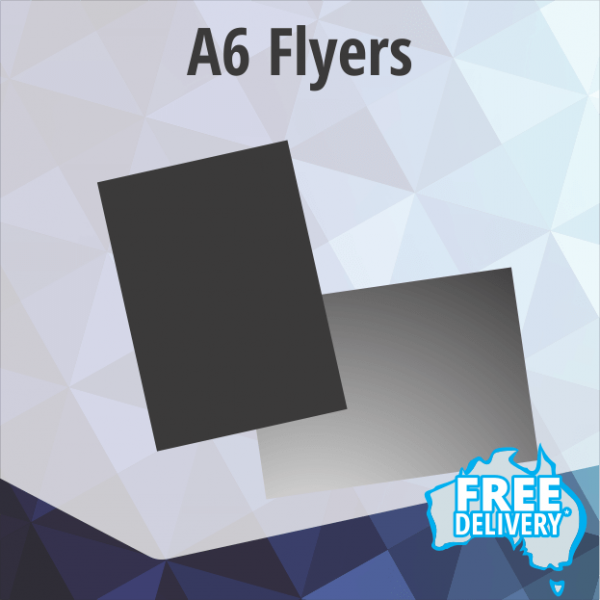 Flyers - A6 - 150gsm Gloss - Full Colour - 105x148.5mm