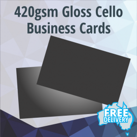 Business Cards - 420gsm - Gloss Coated - Full Colour