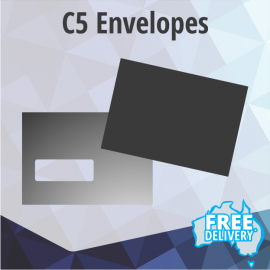 Envelopes - C5 - Full Colour - Edge to Edge - 229x162mm