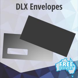 Envelopes - DLX - Full Colour - Edge to Edge - 235x120mm