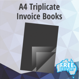 Invoice Books - A4 - Triplicate Books Of 50