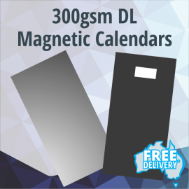Magnetic Fridge Calendars - DL - 300gsm - 210x99mm