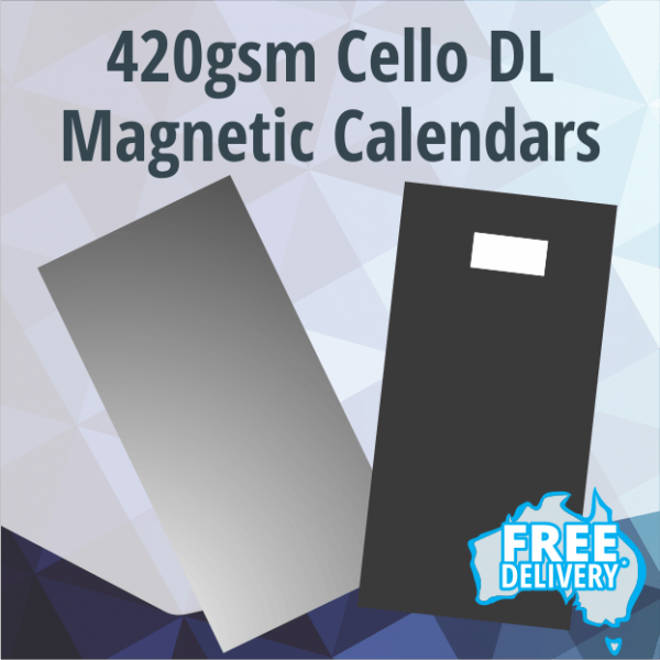 Magnetic Fridge Calendars - DL - 420gsm - 210x99mm