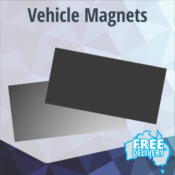Car Magnets - Full Colour - Price Per Pair