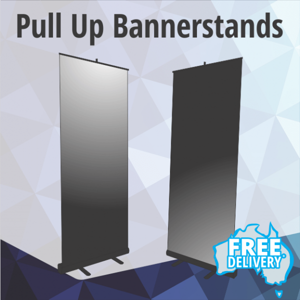 Pull Up Bannerstand - Full Colour - With FREE Padded Case